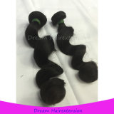 Волосы девственницы Unprocessed свободной волны 100% естественные индийские