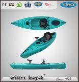 Uma Pessoa Sente-se em Hot Sell-Kayak Pesca de plástico não-inflável