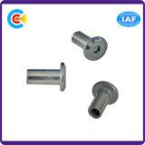 DIN/ANSI/BS/JIS Kohlenstoffstahl/aus rostfreiem Stahl 4.8/8.8/10.9 runde Haupthexagon-Hülsen für Builing Gleis