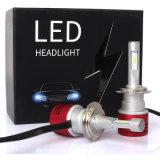 60W 차 헤드 램프 8400lm 터보 LED 전구 V5 H7 Csp LED 헤드라이트 6000k 차 빛