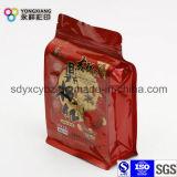 Nahrungsmittelgrad Doypack Aluminiumreißverschluss-Beutel für Imbiss-Nahrung