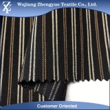 Warp Stretch Stripe Yarn Dyed Nylon Spandex Tissu de vêtement