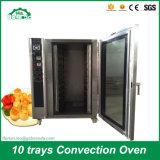 빵집 Bdc-10q를 위한 최신 바람 루프 오븐 굽기 기계 가스 대류 오븐