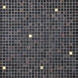 Mosaico di vetro nero per la decorazione
