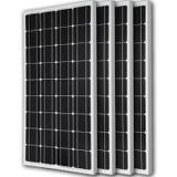 高性能の90ワットのモノラル太陽電池パネル