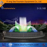Fontaine extérieure décorative de musique de l'eau d'éclairage LED