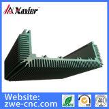 Profilo di alluminio personalizzato del telaio di comunicazioni lavorando di CNC