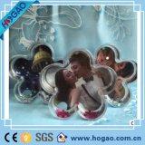 Cône personnalisé Photo Globes de Neige en plastique avec de la neige