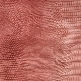 O Synthetic gravado o mais novo do PVC do plutônio do lagarto 2017 para o saco (D951)