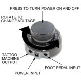 Новое профессиональное критически электропитание атома Tattoo приспособления ED-590 Edison