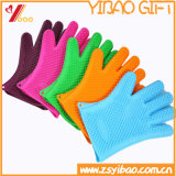 Handschoenen de op hoge temperatuur van het Silicone van de Isolatie (yb-u-117)