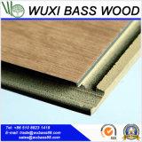 Настил винила Handscraped крытый WPC сделанный из рециркулированного PVC & PVC девственницы