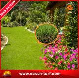 Hierba durable del césped de Aritifical del jardín del PE para la estera