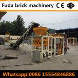 Bloco concreto manual do tijolo contínuo do cimento que faz o preço da máquina