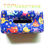 Neoprene caso de la servilleta Facial Tissue Holder Box Hand Wash Paper Box