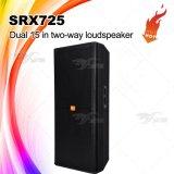 """Srx725 de """" Professionele AudioDoos van Spreker Dubbele 15"""