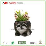 Polyresin Hot-Selling Tortuga sembradoras de jardín para el hogar y jardín ornamentos