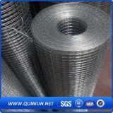PVC e engranzamento de fio galvanizado mergulhado quente de 6FT que cerc com preço de fábrica