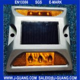 Solar LED Road Stud Eye de chat éclaircissant