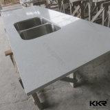 controsoffitto artificiale della cucina della pietra del quarzo 48inch