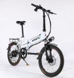 Bicyclette électrique pliante à moteur de 20 pouces