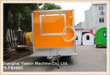 Ys-Fb390d de Oranje Vrachtwagen Saudi-Arabië van het Voedsel van de Aanhangwagen van de Vrachtwagen van het Voedsel Verkopende