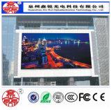 Cor cheia Rental ao ar livre de indicador de diodo emissor de luz P6 que anuncia o painel impermeável de Digitas da parede video