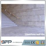 De natuurlijke Tegel van de Muur 30X60 van het Kalksteen van de Bekleding van de Muur van de Steen Gele Binnenlandse