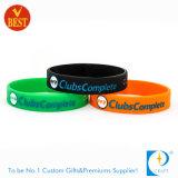Custom дешевые печать резиновый браслет из Китая