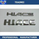 Custom liga ABS letras cromada emblemas emblemas do carro
