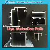 Perfil de aluminio de la protuberancia de 6000 series para la puerta de la ventana de Liberia