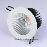 7W / 9W / 12W / 18W Triac / 0-10V / Dali Regulable LED empotrable COB Downlight