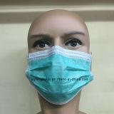 Het beschikbare Niet-geweven 3ply Chirurgische Masker van het Gezicht voor Medisch met Earloop