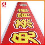 Изготовленный на заказ знамя печатание цифров знамени улицы знака рекламы