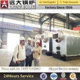 preço e especificações despedidos carvão da caldeira de vapor de 6ton 8-25bar