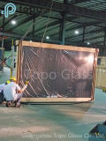 стекло поплавка 4m-12mm темным подкрашиванное серым цветом европейское серое (C-UG)