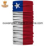 Bandanas multifunzionali della sciarpa stampati bandiera nazionale unica su ordinazione