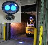Сделано в Китае! Синий светодиодный индикатор со стрелкой, 10-80В сигнальной лампы