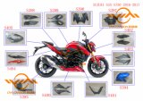 Pièces en fibre de carbone pour les derniers modèles de moto