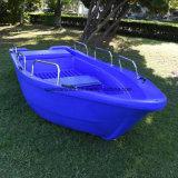 Embarcation plastique populaire de pêche maritime du bateau 430 de PE pour 10 personnes