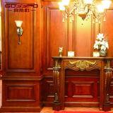 Comitato di parete decorativo di legno interno acustico (GSP9-072)