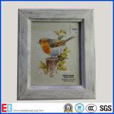 Specchio Legno-Incorniciato/blocco per grafici di legno della foto/cornice