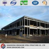 Construction de bâti en acier préfabriquée de qualité avec le panneau ignifuge d'unité centrale