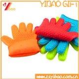 耐熱性シリコーンの手袋およびケイ素のオーブンのミット