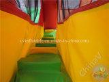 2017 nuova principessa gonfiabile Bouncy Castle con la trasparenza, combinato gonfiabile