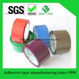 Cinta de poco ruido colorida adhesiva del embalaje de BOPP
