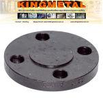 """BS4504 Table D 16"""" Deslizamento de aço carbono no flange."""