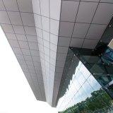 El panel de pared de aluminio de cristal de cortina de la pared de cortina de la fabricación de la fábrica con PVDF que cubre ISO9001 incombustible ISO14001