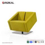 Orizeal Samt-moderner grüner Büro-Aufenthaltsraum-Sofa-Stuhl (OZ-OSF015)