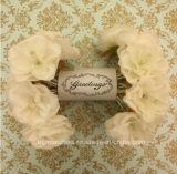 Indicatori luminosi leggiadramente della stringa della Rosa della decorazione di cerimonia nuziale della ghirlanda bianca del fiore